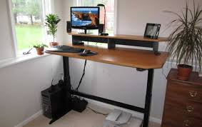 enchanting build a standing desk trends and platform shower out of diy ideas stunning your own adjule image noticeable built in white wooden