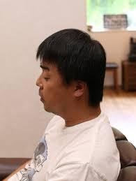ずっと短い髪型の男が髪を伸ばしてパーマをかけた 茨城県北茨城市の
