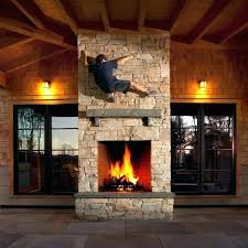 double sided outdoor fireplace indoor double sided outdoor fireplace insert