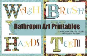 >bathroom wall art printables the homes i have made bathroom wall art printables