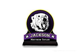 Bear Claw Lights Jackson Polar Bears Edge Light High School Mascots Polar
