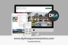 Dk Web Design Chico Ca We Recently Launched A Template Website For Skyline Luxury