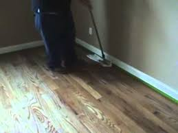 wooden floor wax removal process