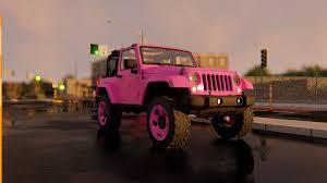 3D Jeep Wrangler Model - Pink - 3d Tools