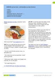 Afvallen groente en fruit dieet