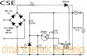 battery charger circuit page 6 power supply circuits next gr Battery Charger Transformer Wiring Diagram variable charger circuit schematic diagram battery charger without transformer circuit diagram