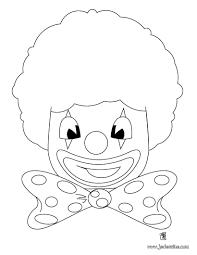 Coloriage Cirque Clown Tetellllll Duilawyerlosangeles
