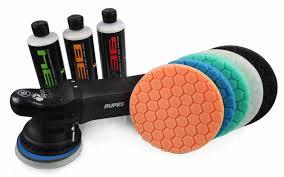 orbital buffer pads. valuable kit for one-stop polishing jobs orbital buffer pads