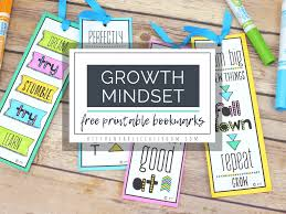 Easy, free printable bookmark for you or a friend with inspiring quotes to keep you in love with reading. Growth Mindset Bookmarks Print And Color The Kitchen Table Classroom