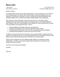 Qualifications For A Customer Service Representative Cover Letter Examples Of Customer Service Customer Service