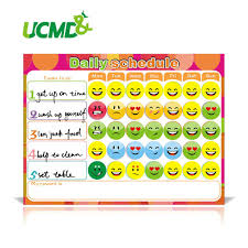 How To Do A Reward Chart Dry Erase Magnet Weekly Planner Creative To Do List Kids Schedule Magnetic Reward Chart 40 X 30 Cm Magnetic Words For Fridge Magnetic Words For