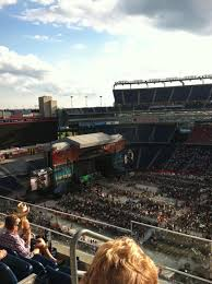Gillette Stadium Section 307 Concert Seating Rateyourseats Com