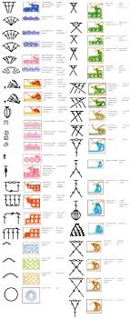 Japanese Crochet Chart Symbols 90 Crochet Chart Symbols Made Really Simple Knit And