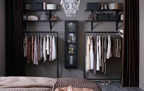 Open Closet Bedroom Ideas Open Wardrobe With Curtain Open Room