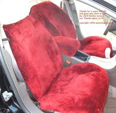 fur car seat covers sheepskin seat covers pink fur car seat covers