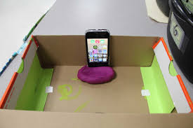 diy cell phone projector 4
