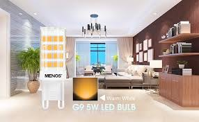 MENGS® G9 Led <b>Bulb</b> 5W Warm White,Equivalent to Halogen ...