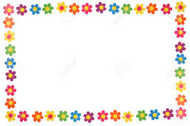 Colorful Flower Border And Frame Stock Photo Picture And Royalty