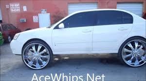 AceWhips.NET- White 2007 Chevy Malibu on 28