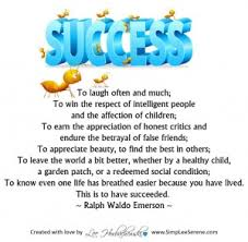 how do you define success by lee simplee serene everyone