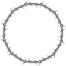 barbed wire frame png. Exellent Frame 28 Collection Of Barbed Wire Circle Clipart  High Quality Free  And Frame Png