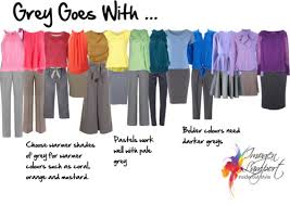 What Color Goes With Grey a variety of colors: a simple summer wardrobe |  the