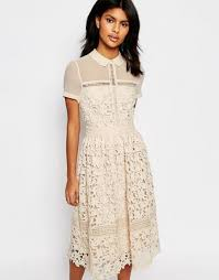 warehouse lace collar dress cream women dresses warehouse jumpers debenhams factory