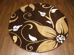 modern new 120x120cm circles rugs woven back hand carved brown beige lily lovley