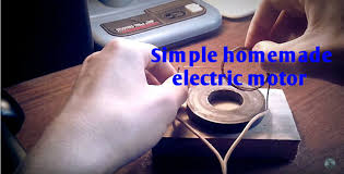 simple homemade electric motor. Picture Of Simple Homemade Electric Motor