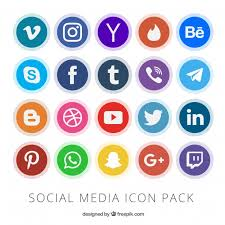 Image result for image of social medias logo
