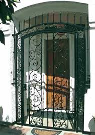 front door gate. Tall Door Gate Front Entry Gates Iron Arched
