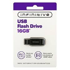 infinitive usb flash drive 16 gb