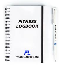 Diet Workout Journal Fitness Logbook Undated Workout Journal W Pen 4 X 6