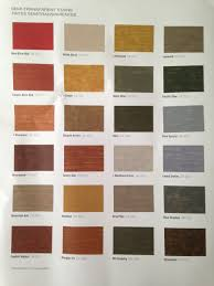 Sherwin Williams Stain Chart Sherwin Williams Semi Transparent Stains For Deck Fence