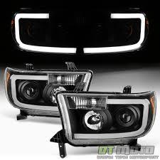 Black 2007-2013 Toyota Tundra 08-17 Sequoia [SMD OPTIC] LED ...