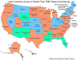 27 best graphs images on pinterest united states, infographics Superhero Map a map of the most common cause of death by u s state that keeps getting covered super hero map minecraft