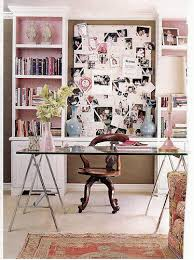 feminine home office. Brown And Pink Work Perfectly Together To Bring Warmth A Feminine Home Office. Office