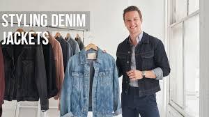5 Different Styles of <b>Denim Jackets</b> for <b>Men</b> | <b>Jean Jacket</b> Outfit Ideas ...