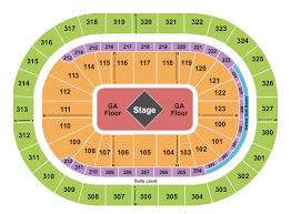Metallica Seating Chart Metallica Packages