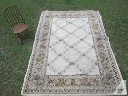 kennedy linens area rug 7 x8