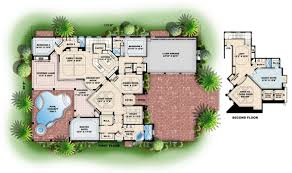 house floor plans in color home deco plans