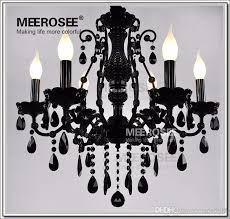 french style crystal chandelier lighting fixture vintage black wrought iron chandelier suspension hanging lamp light chandeliers for contemporary
