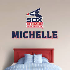 chicago white sox 1987 stacked personalized name giant mlb transfer decal fathead