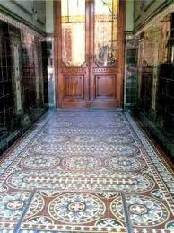 then pasted the quasi english version of some interesting text here it is about the restoration work done on some historic cement tile floors
