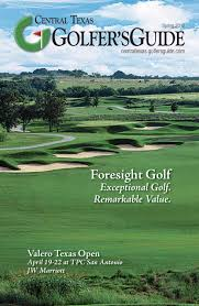 <b>Golfer's</b> Guide Central Texas by <b>Golfers</b> Guide Marketing Solutions ...