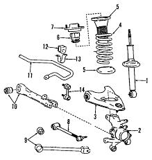 com acirc reg lexus sc suspension components oem parts 1992 lexus sc400 base v8 4 0 liter gas suspension components