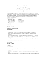 Tax Accountant Assistant Resume Templates At Allbusinesstemplates