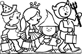 Small Picture Halloween Coloring Pages 27 Coloring Kids