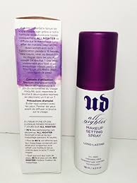 amazon ud all nighter makeup setting spray long lasting 4oz 100 authentic by u d beauty