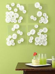 green wall art ideas